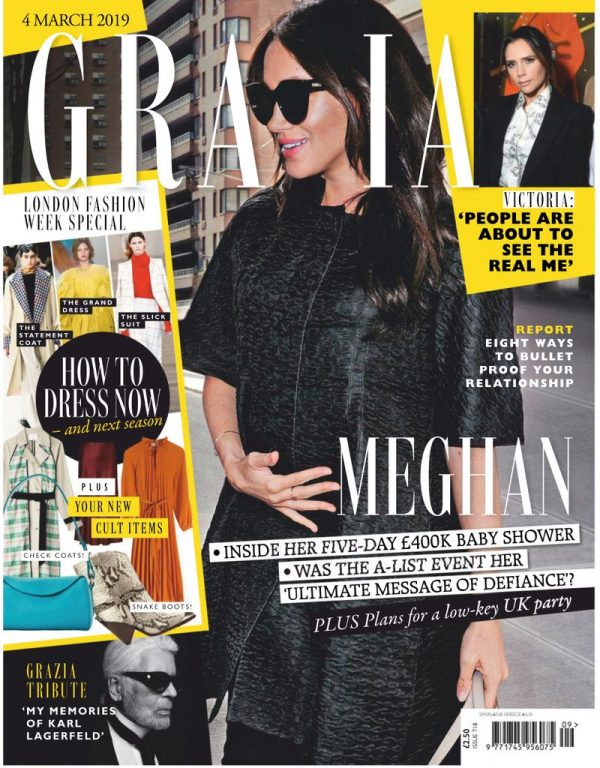 Grazia UK – 10 March 2019