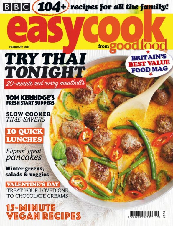 BBC Easy Cook UK – February 2019