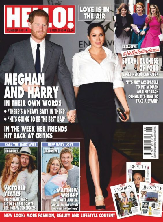 Hello! Magazine UK – 25 February 2019