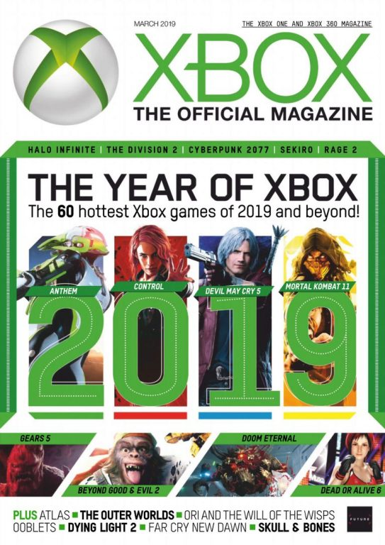 Xbox The Official Magazine UK – March 2019