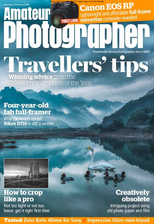 Amateur Photographer – 23.02.2019