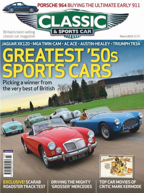 Classic & Sports Car UK – March 2019