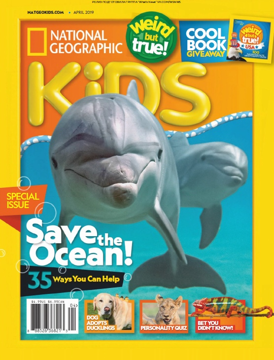 National Geographic Kids USA – 04.2019