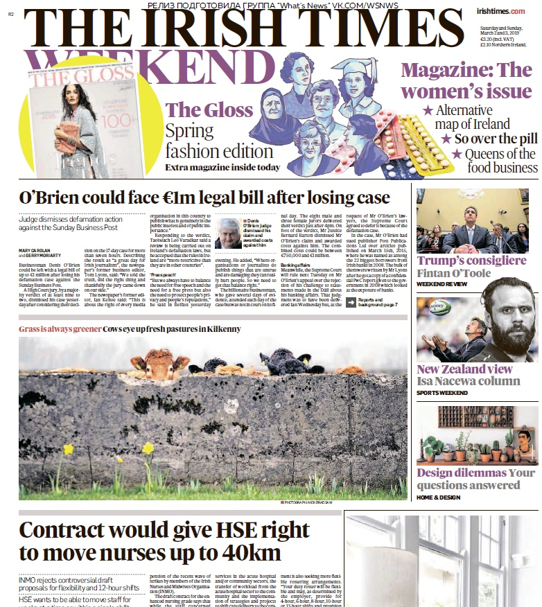 The Irish Times – 02.03.2019