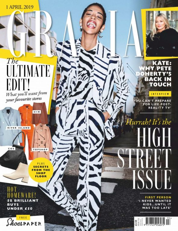 Grazia UK – 07 April 2019