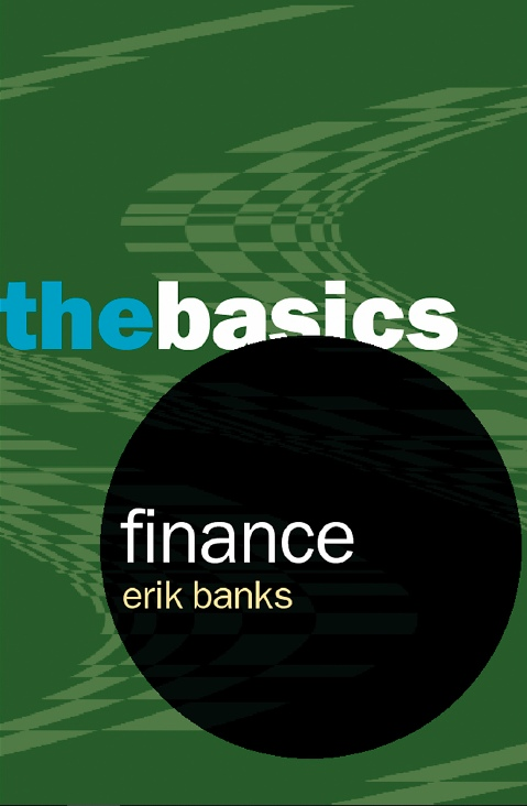 Erik Banks — Finance — The Basics