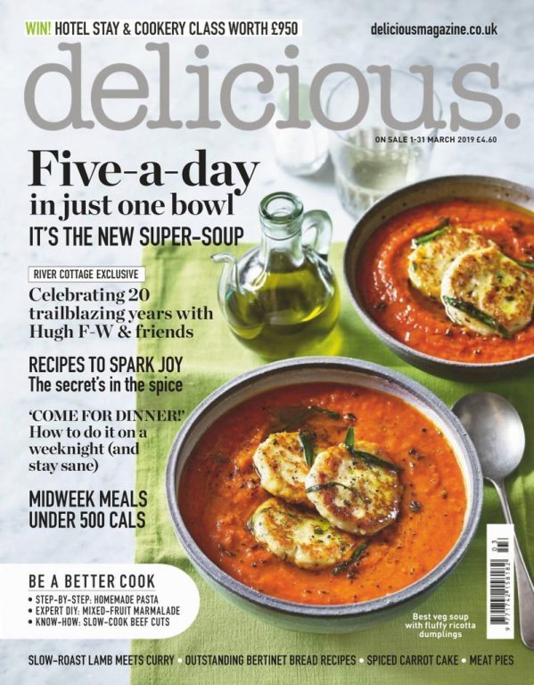 Delicious UK – March 2019