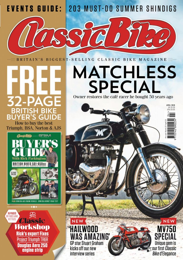 Classic Bike UK – April 2019