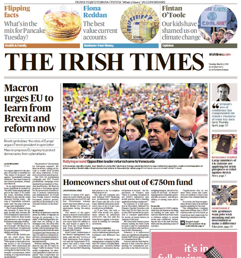 The Irish Times – 05.03.2019
