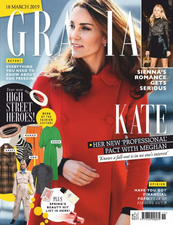 Grazia UK – 24 March 2019