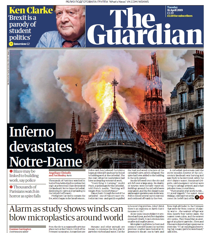 The Guardian – 16.04.2019