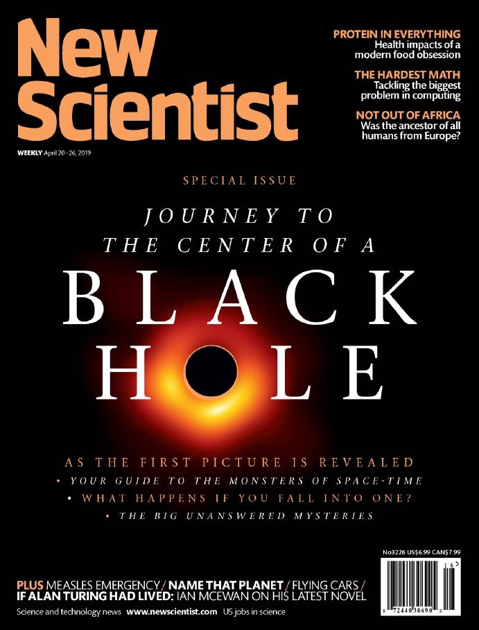New Scientist – 20.04.2019