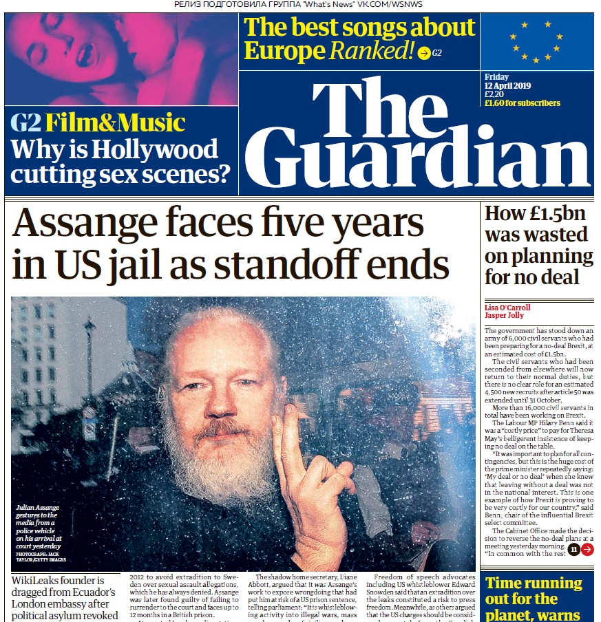 The Guardian – 12.04.2019
