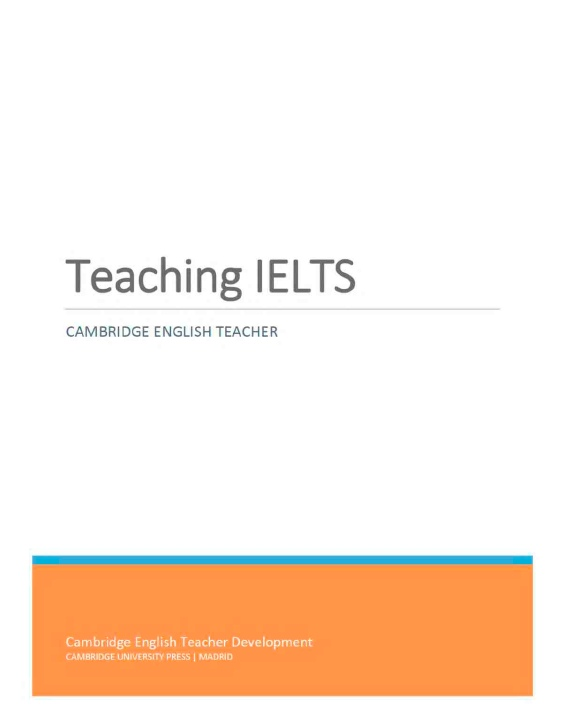 Cambridge University Press – Teaching IELTS
