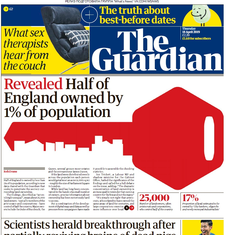 The Guardian – 18.04.2019