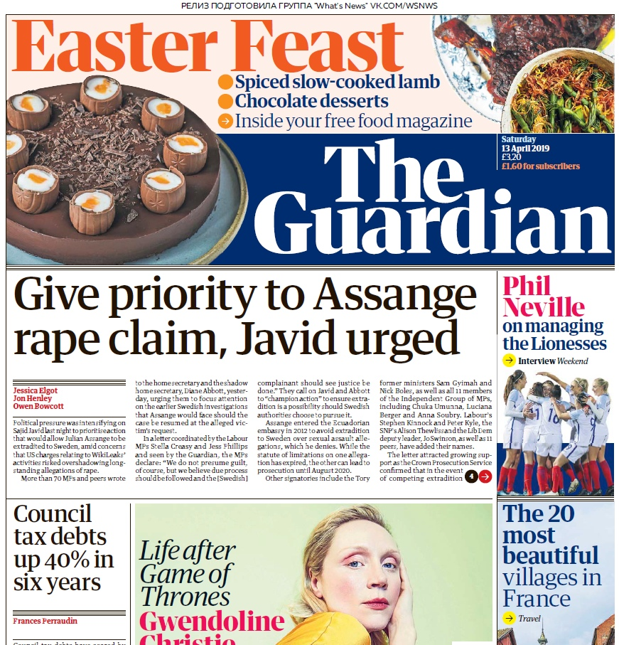 The Guardian – 13.04.2019