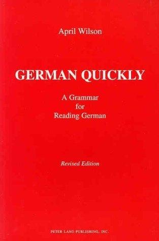 April Wilson – German Quickly