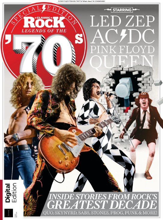 Classic Rock – Rock Legends Of The 70s – 2019