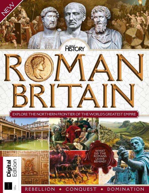 All About History Book Of Roman Britain – May 2019