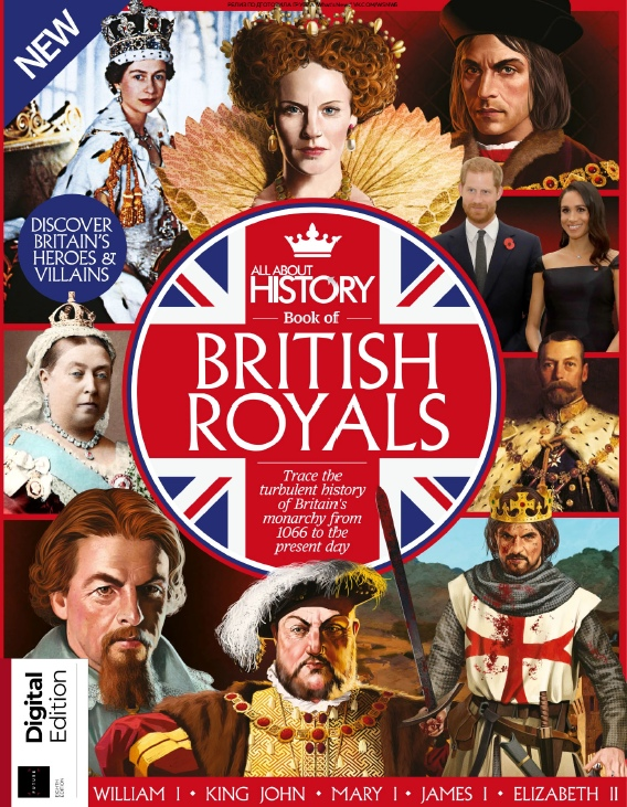All About History – Book Of British Royals – 2019