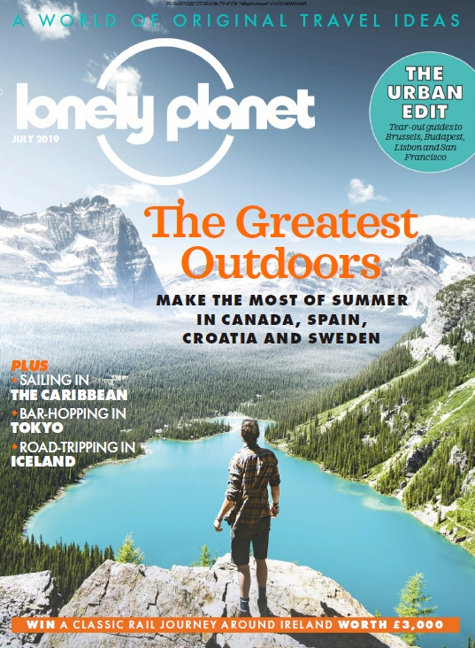 Lonely Planet Traveller UK – 07.2019