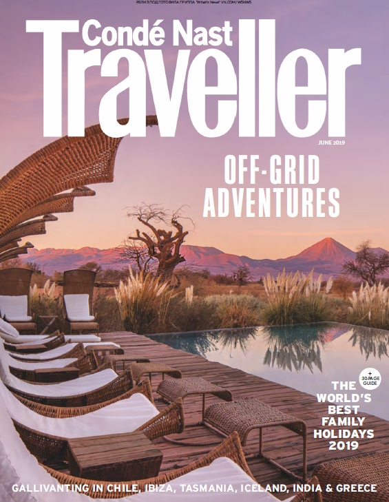 Condé Nast Traveller UK – 06.2019