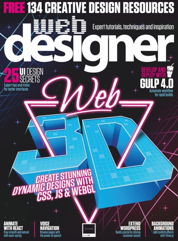 Web Designer UK – July 2019