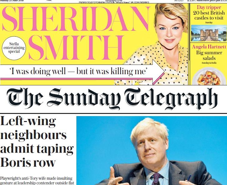The Sunday Telegraph – 23.06.2019