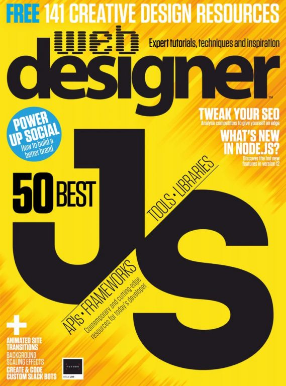 Web Designer UK – August 2019