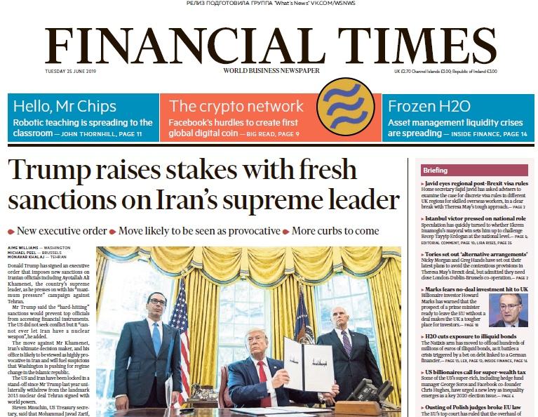 Financial Times UK – 25.06.2019