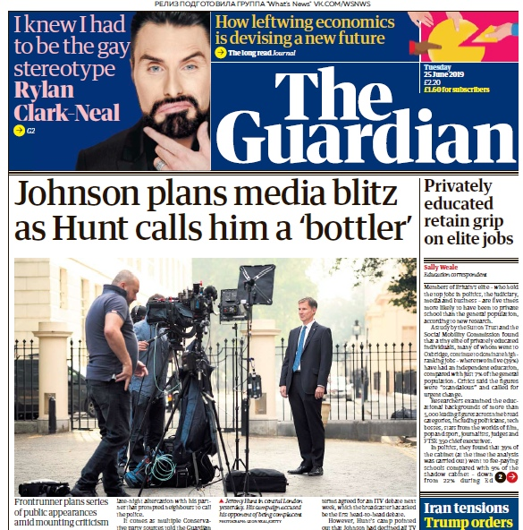 The Guardian – 25.06.2019
