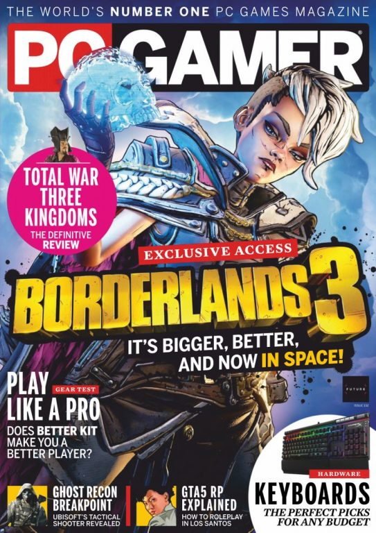 PC Gamer UK – July 2019