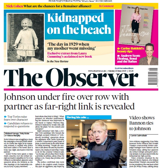 The Observer – 23.06.2019