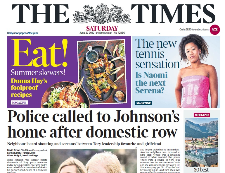 The Times – 22.06.2019