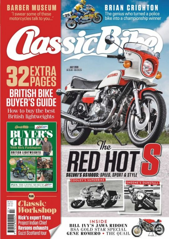 Classic Bike UK – July 2019