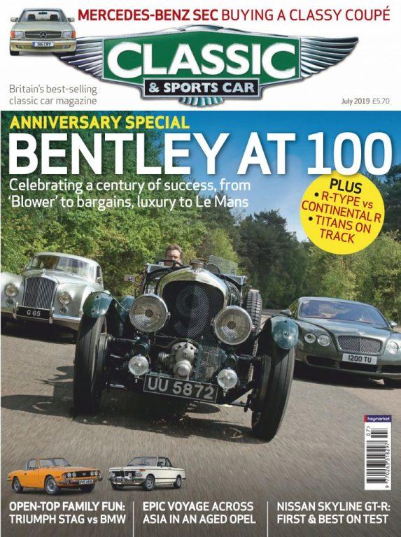 Classic & Sports Car UK – July 2019