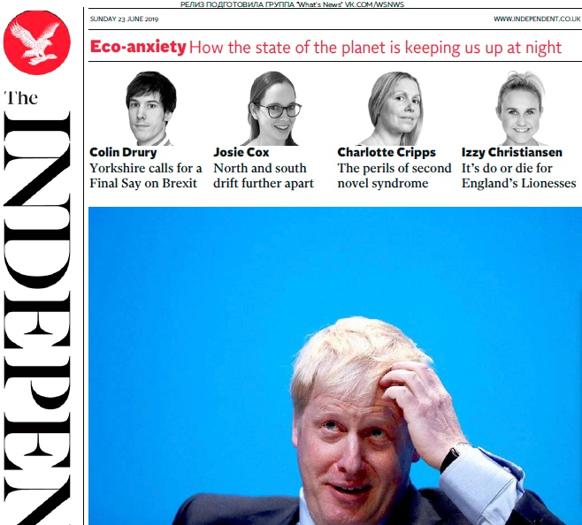The Independent – 23.06.2019