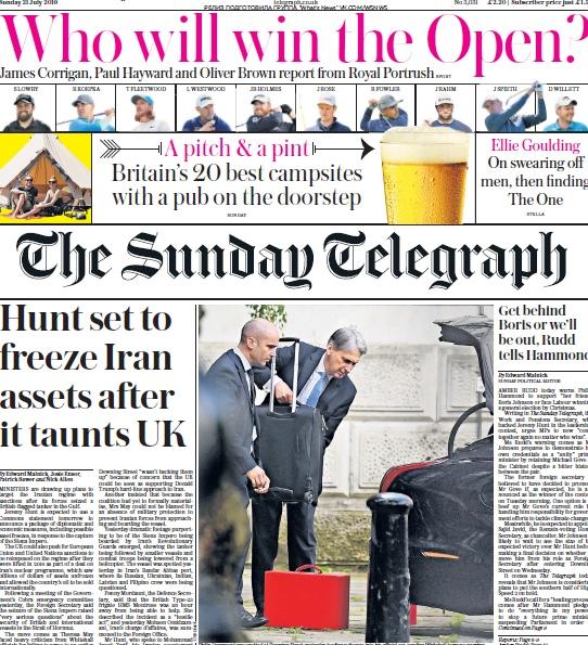 The Sunday Telegraph – 21.07.2019