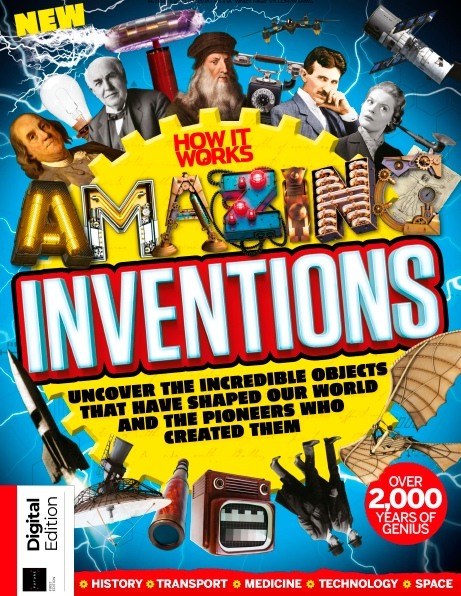 How It Works – Book Of Amazing Inventions – 2019