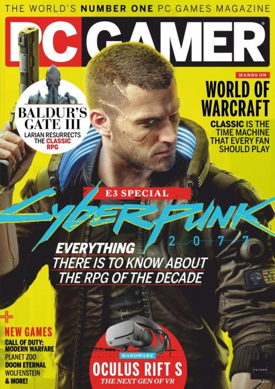 PC Gamer UK – August 2019