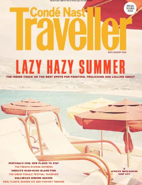 Condé Nast Traveller UK – 07.2019 – 08.2019