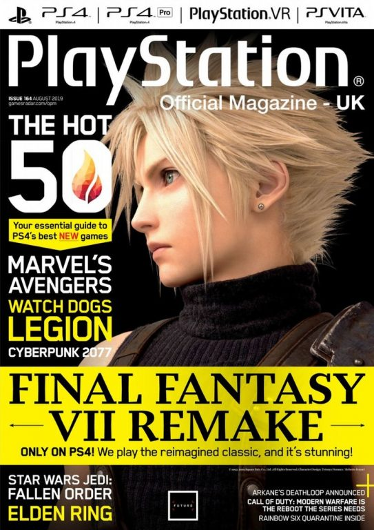 PlayStation Official Magazine UK – August 2019