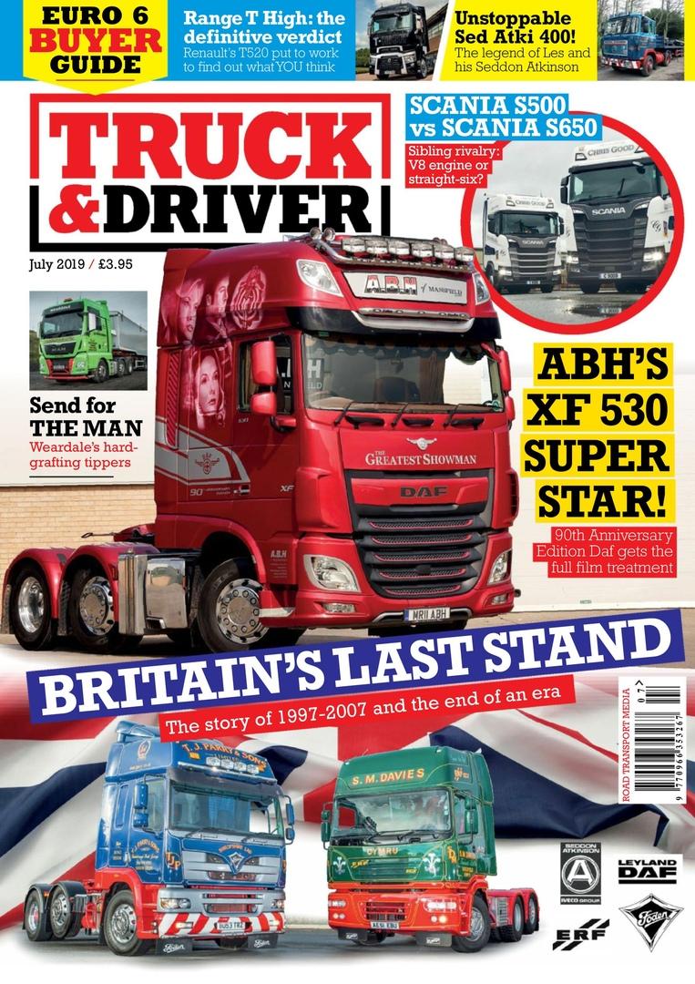 Truck & Driver UK – July 2019