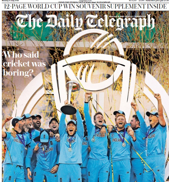 The Daily Telegraph – 15.07.2019