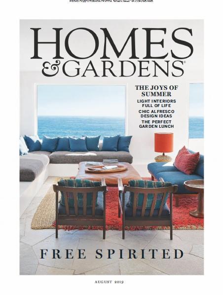 Homes & Gardens UK – 08.2019