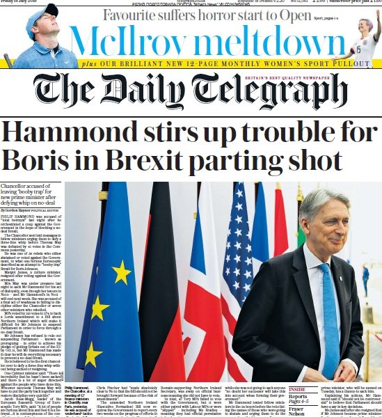 The Daily Telegraph – 19.07.2019