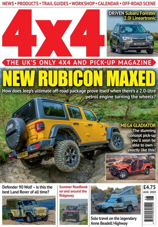 4×4 Magazine UK – August 2019