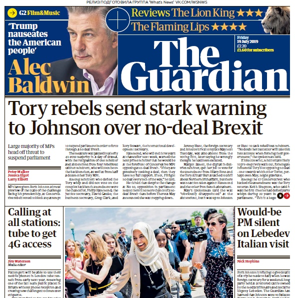 The Guardian – 19.07.2019