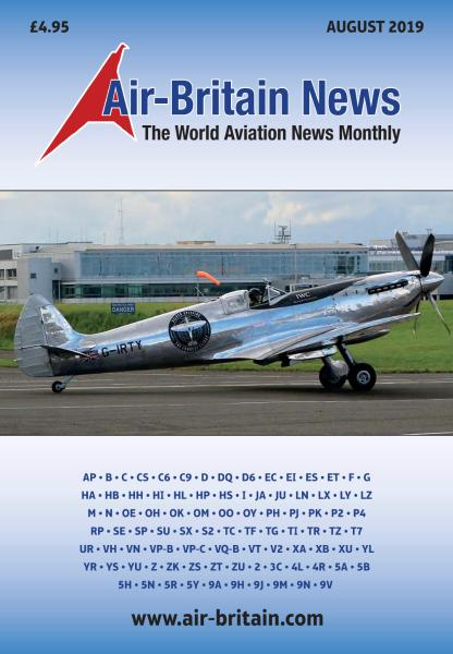 Air-Britain News – August 2019