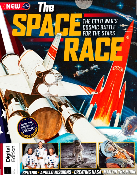 All About History – Book Of The Space Race